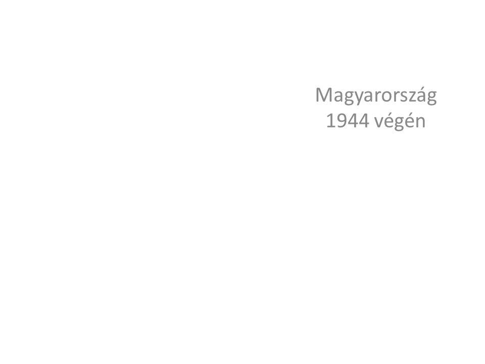 Magyarország 1944 végén