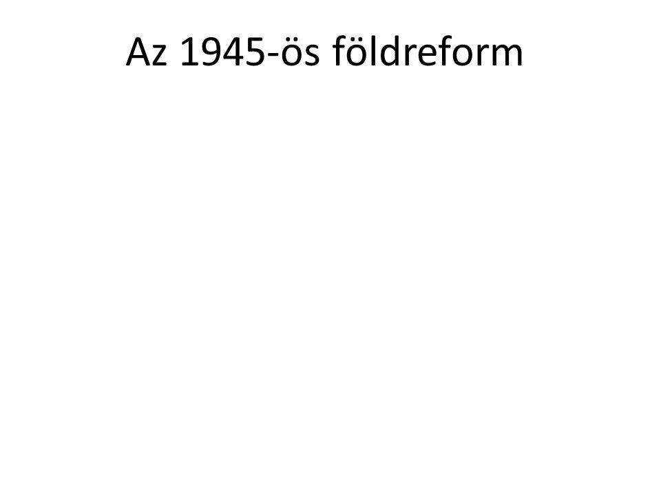 Az 1945-ös földreform