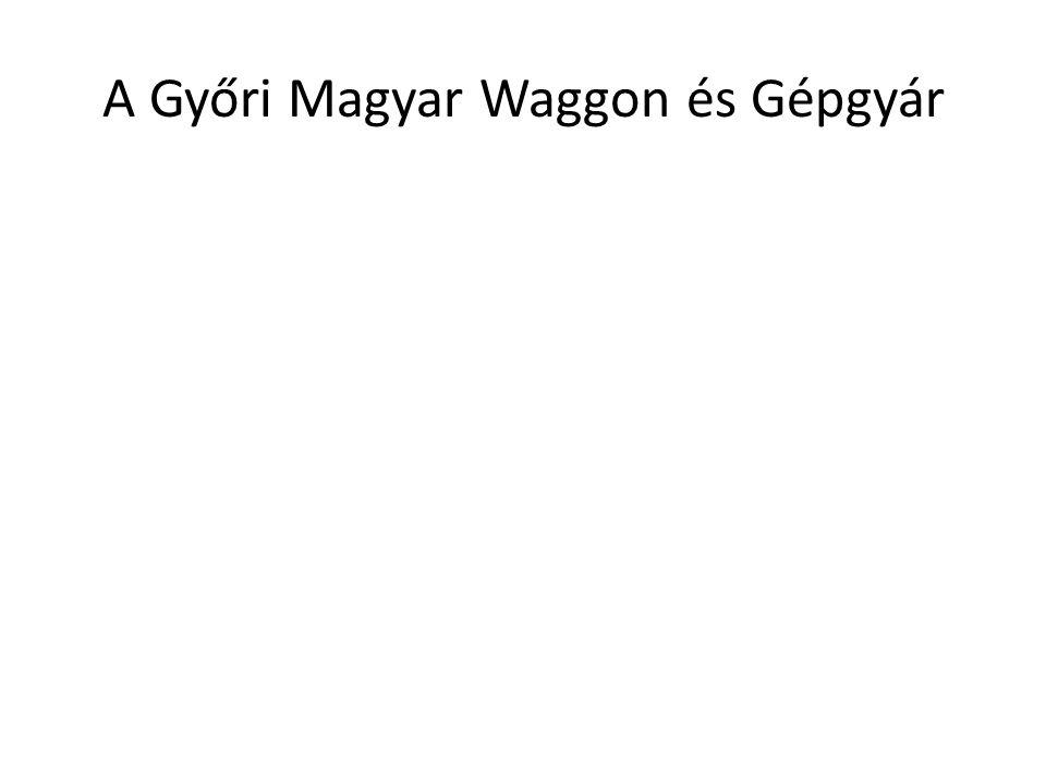 A Győri Magyar Waggon és Gépgyár