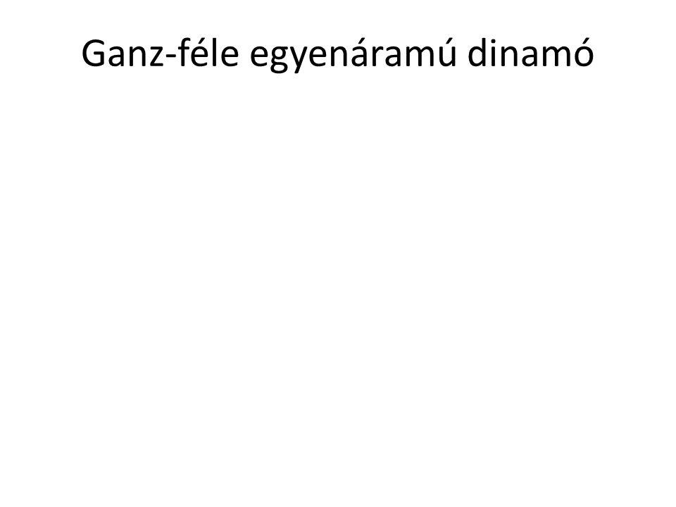 Ganz-féle egyenáramú dinamó