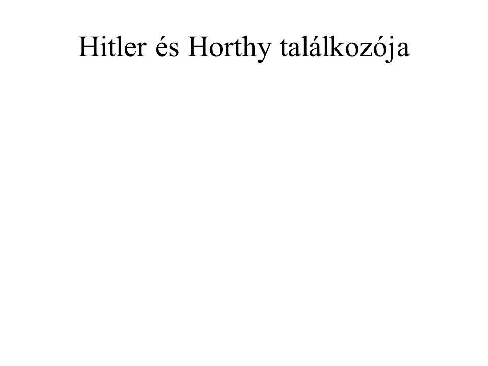 Hitler és Horthy találkozója