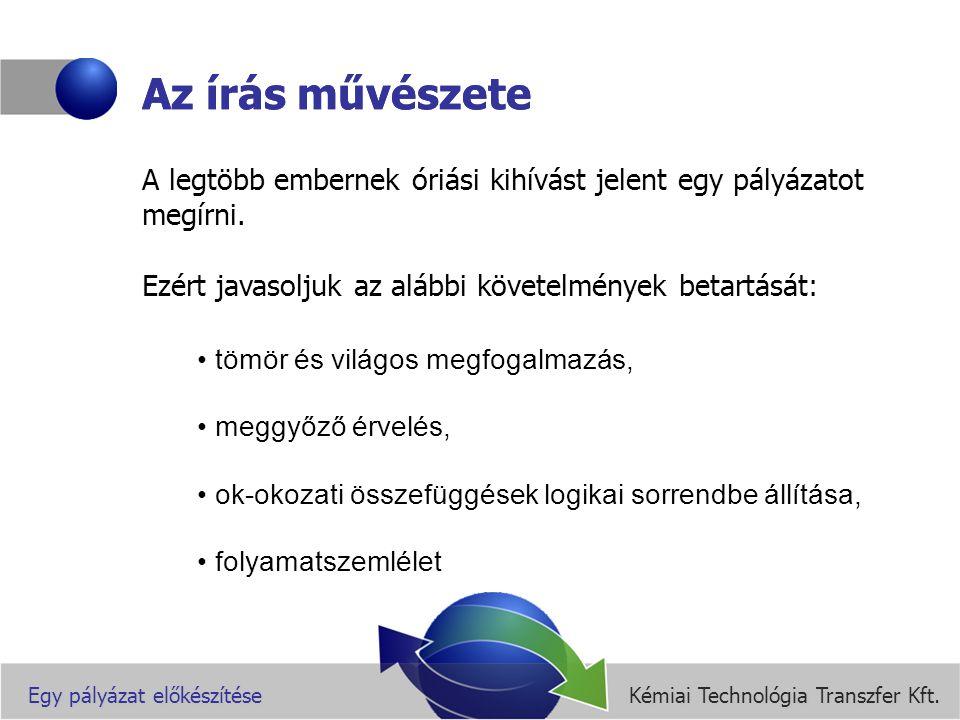 Kémiai Technológia Transzfer Kft.