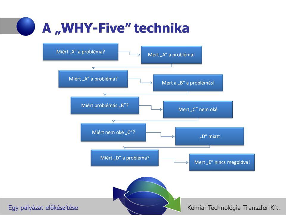Kémiai Technológia Transzfer Kft.Egy pályázat előkészítése A tudományos téma kifejtése I.