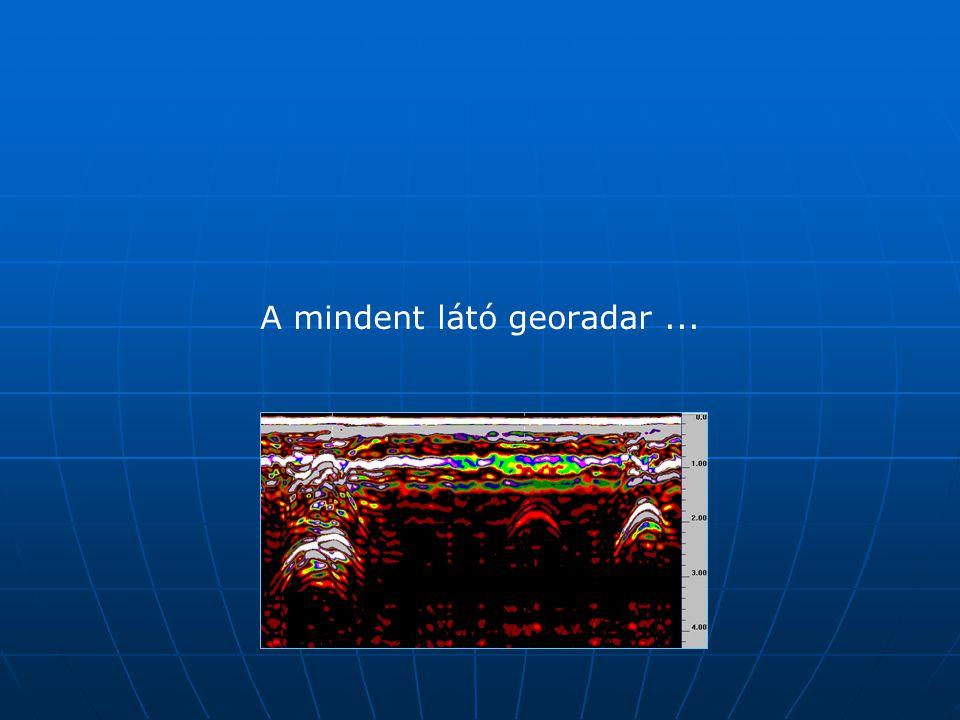 Felmérési technikák: A mindent látó georadar..... a mindenható GPS ….. a mindenre képes fotogrammetria..... a mindent tudó ( totális ?) mérőállomás ….