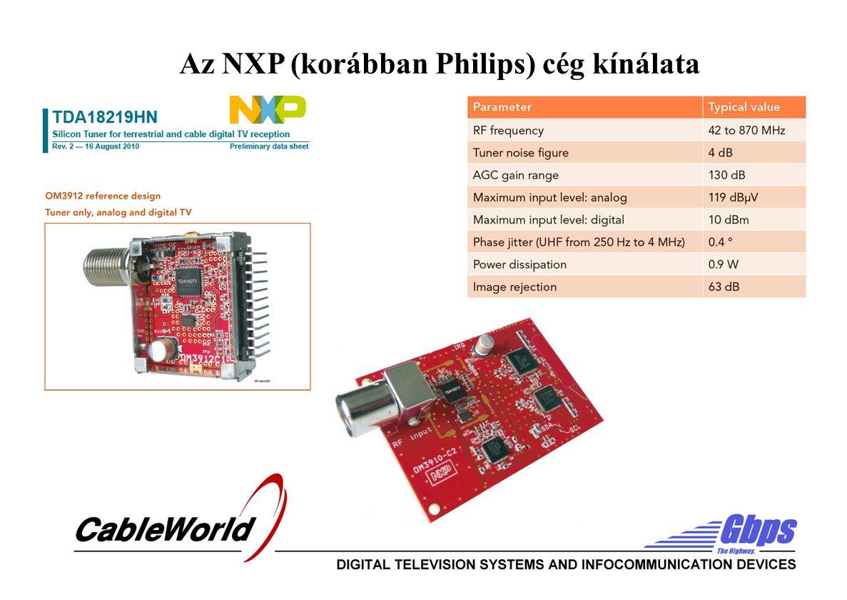 Az NXP (korábban Philips) cég kínálata
