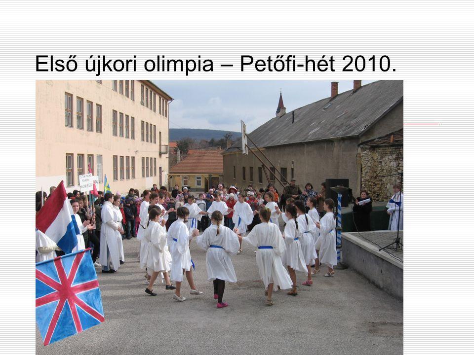 Első újkori olimpia – Petőfi-hét 2010.