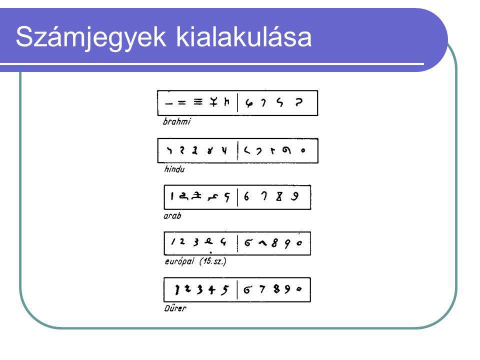 A nagyobb számértékek megjelenésével kialakult az átváltásos rendszerű számábrázolás, a tízes, tizenkettes, majd a hatvanas számrendszer.