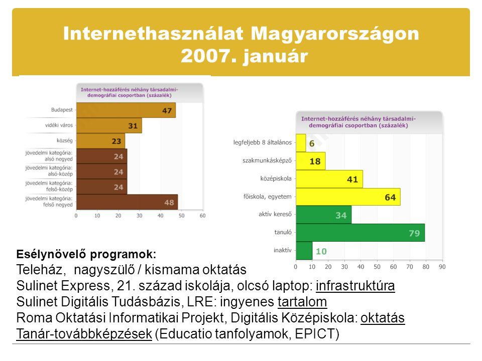 Az IKT kockázatai  Net-függőség / egyéb függőségek kockázatai  Veszélyes / ostoba tartalmak / a médiában is  Számítógép-használattal kapcsolatos betegségek / az iskola egyéb egészségügyi ártalmai  Digitális írástudás a hagyományos írás-olvasás kompetencia rovására / finnek: legtöbb iskolai IKT  Virtuális létezés = izoláció a valódi életben / Net Nemzedék  Net bennszülöttek
