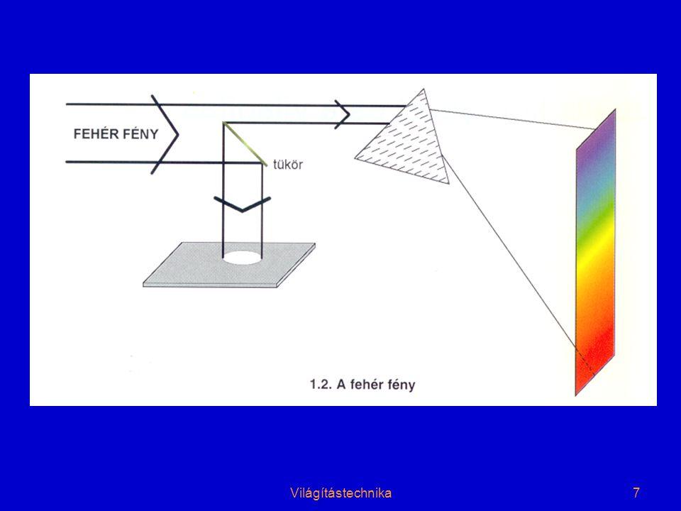 8 Az optikai sugárzások biológiai hatásai Az UV sugárzás hatásai •Baktericid (germicid) hatás •Erythem hatás •Conjunktivitis hatás •Ózonkeltő hatás A látható tartományú sugárzás nem vizuális hatásai •Direkt pigmentképző hatás •Bilirubin hatás Az IR sugárzás hatásai •Orvostudomány: gyógyítás