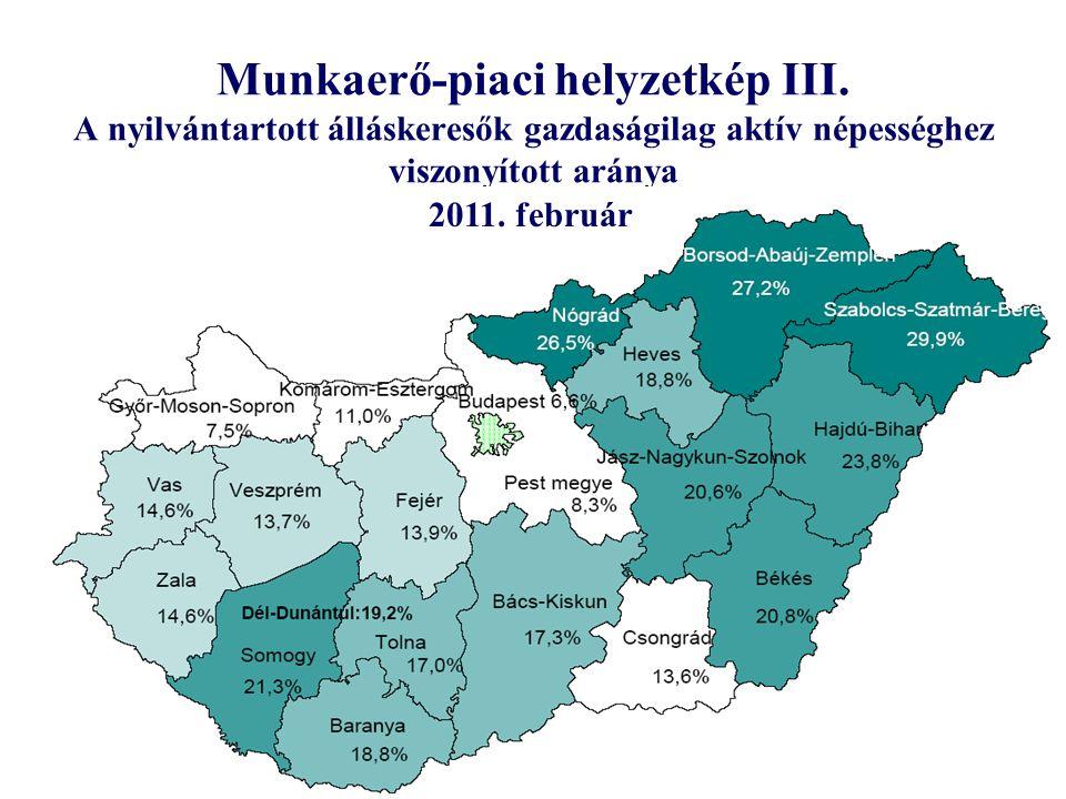 Munkaerő-piaci helyzetkép III.
