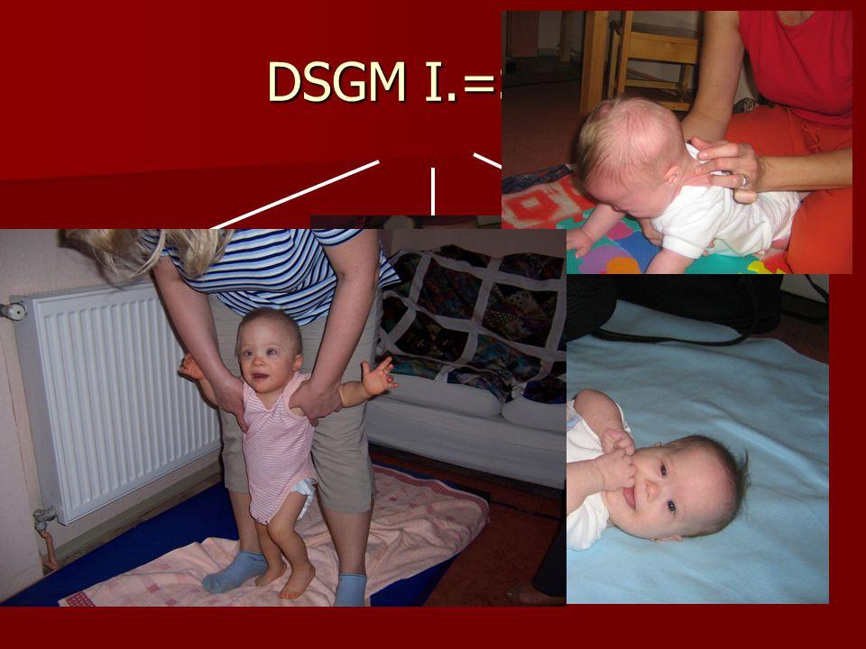 DSGM I.=SMT Mechanikai hatás -kontraktúraoldás -izomhelyzet normalizáció /akadályok elhárítása, izomzat előkészítése, lazítás, nyújtás/ Idegrendszeri
