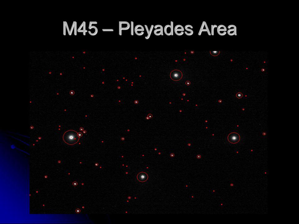 M45 – Pleyades Area
