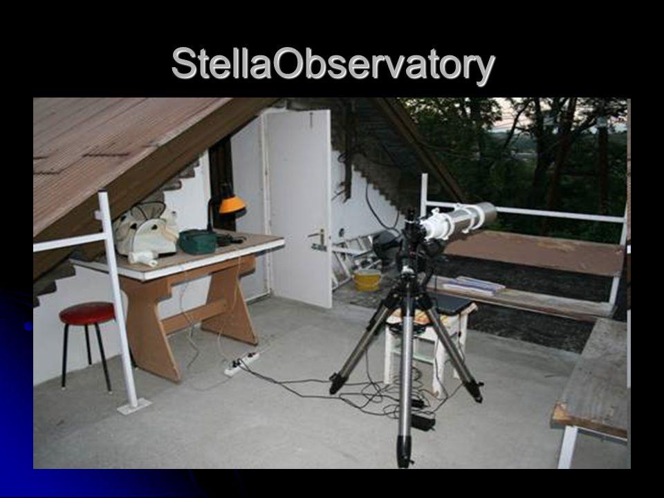 Az ÁLOM  Automatizált asztrofotózás  Programozott fotózás (tervezett program alapján)  Internetes távvezérlés (vidéki észlelőhely)  Automatizált képfeldolgozás  Nylon-Flat (Dark/Flat frame-ek helyett!?)  Zajszűrés (a csillagokat nem bántja!)  StarDetect: csillagérzékelés  Változó csillag fotometria  Tranziensek érzékelése