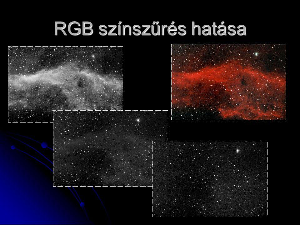 RGB színszűrés hatása
