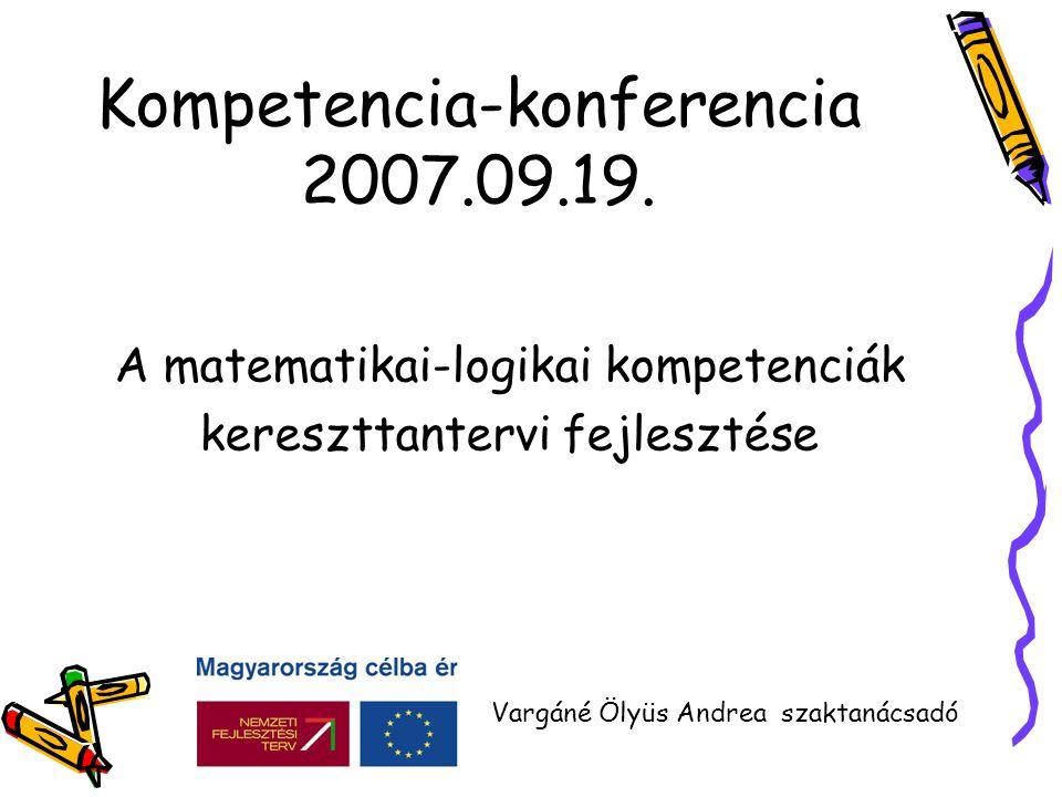 Kompetencia-konferencia 2007.09.19.