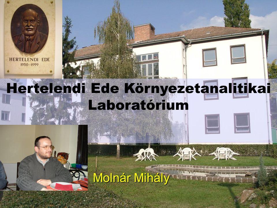 Hertelendi Ede Környezetanalitikai Laboratórium Molnár Mihály