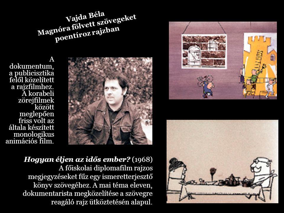 A dokumentum, a publicisztika felől közelített a rajzfilmhez. A korabeli zörejfilmek között meglepően friss volt az általa készített monologikus animá