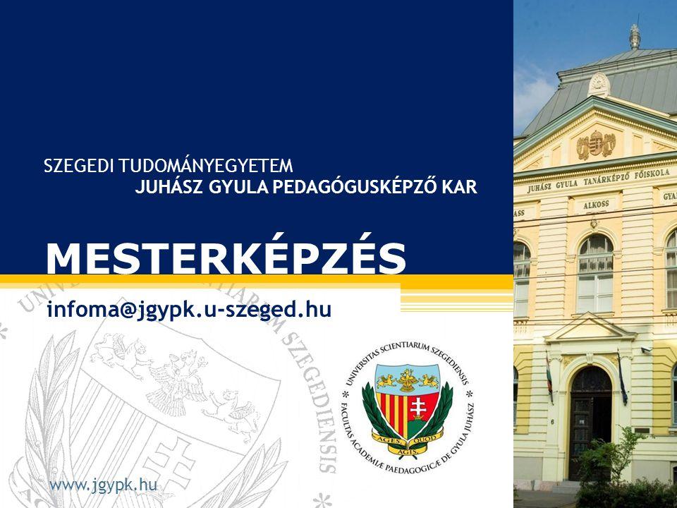 SZTE JGYPK Művészeti Intézet Ének-zene Tanszék • Levélcím: 6725 SZEGED, Hattyas sor 10.