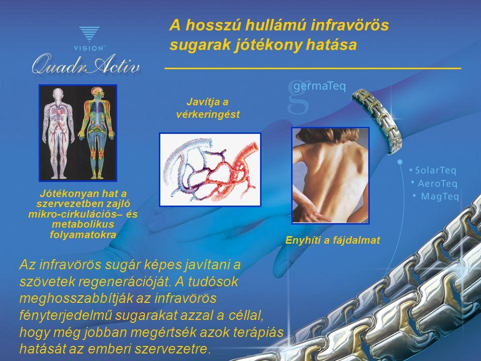 A hosszú hullámú infravörös sugarak jótékony hatása Az infravörös sugár képes javítani a szövetek regenerációját. A tudósok meghosszabbítják az infrav