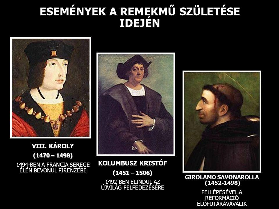 A RENESZÁNSZ KEZDETEI (AZ 1300-AS ÉVEK)