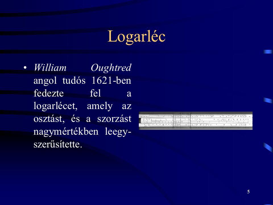 6 Wilhelm Sichkard 1592-1635 /Német/