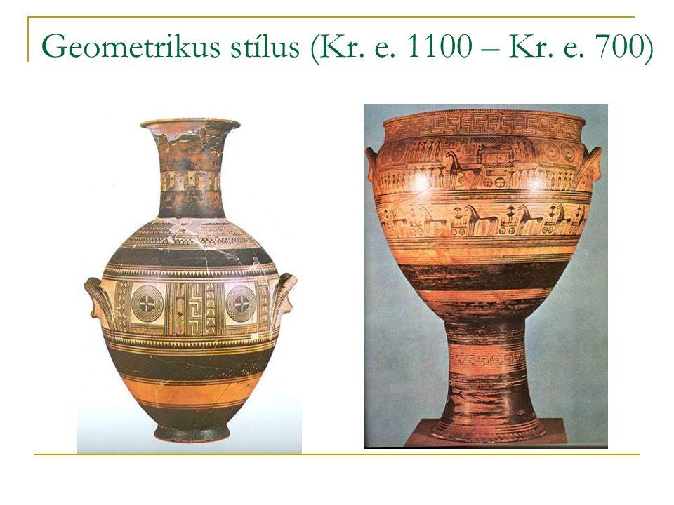 Geometrikus stílus (Kr. e. 1100 – Kr. e. 700)