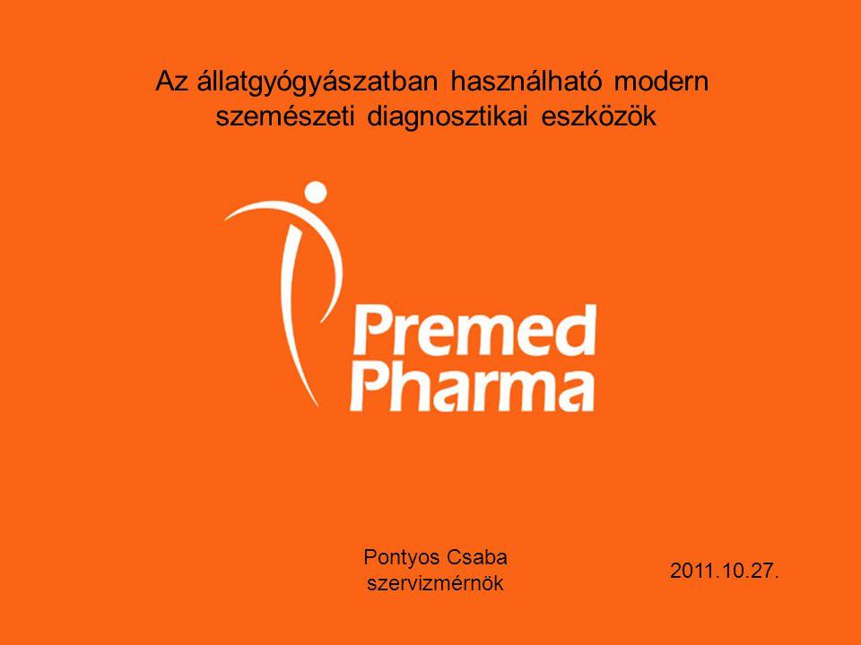 Az állatgyógyászatban használható modern szemészeti diagnosztikai eszközök Pontyos Csaba szervizmérnök 2011.10.27.