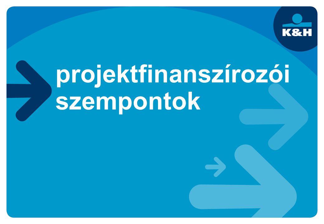 projektfinanszírozói szempontok