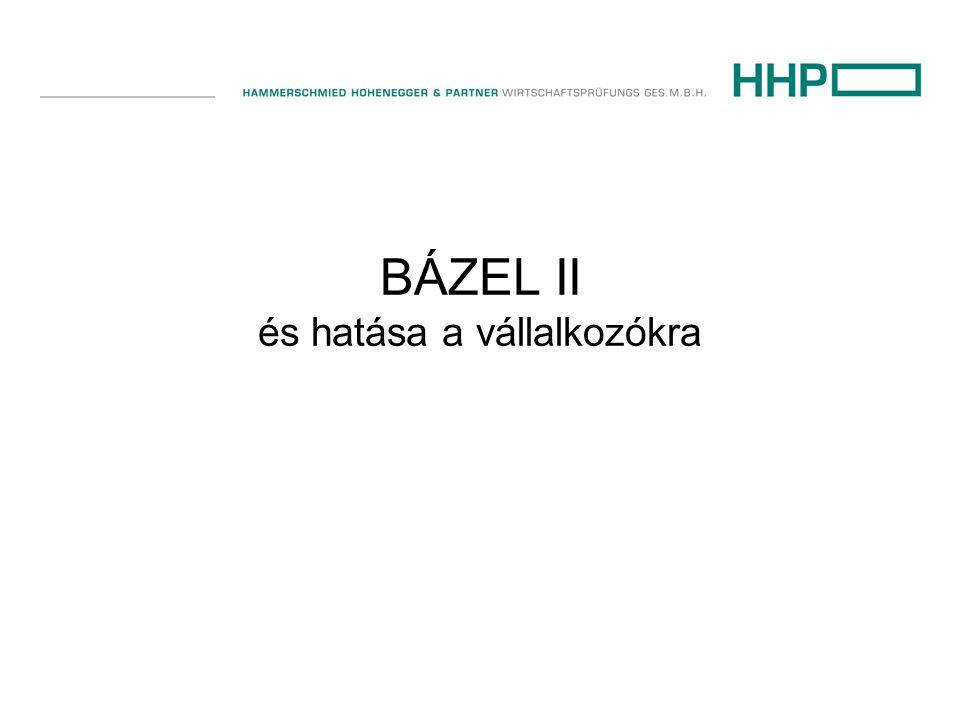 BÁZEL II és hatása a vállalkozókra