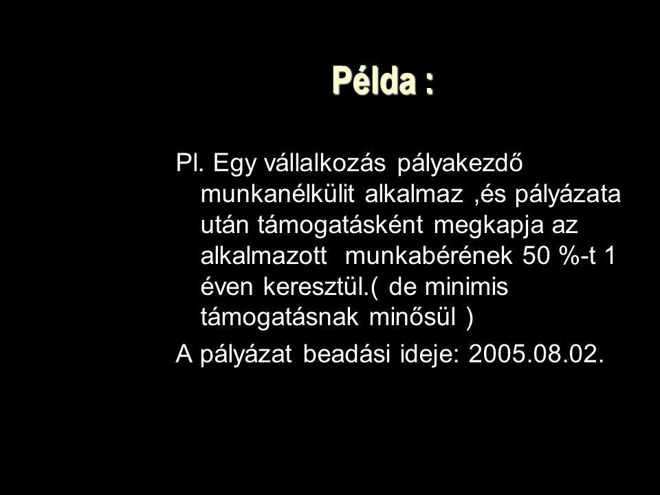 Példa : Pl.