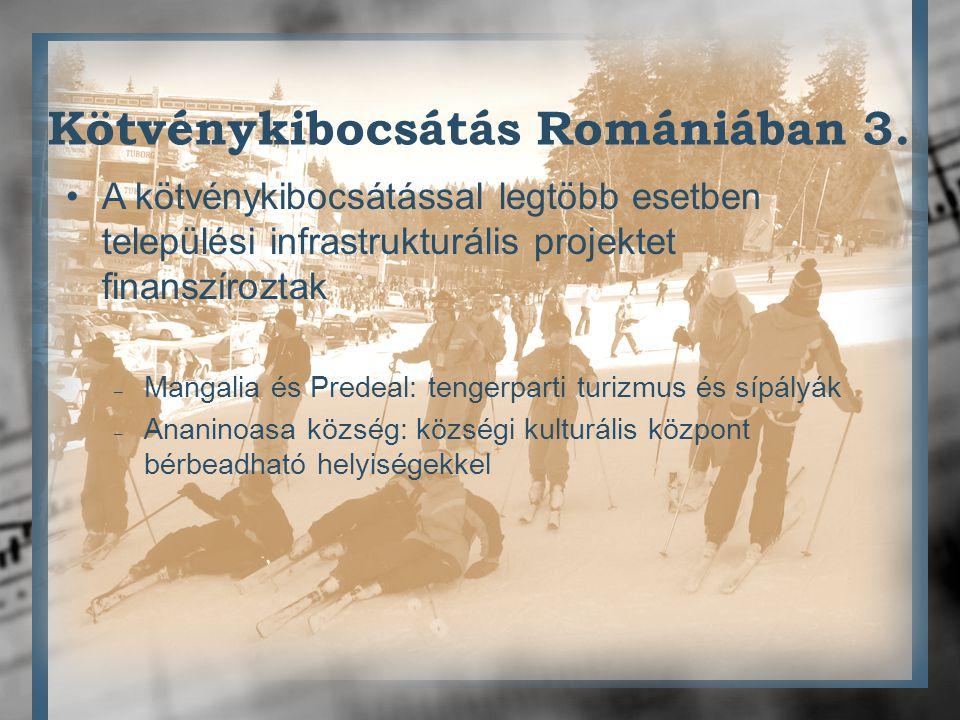 Kötvénykibocsátás Romániában 3.