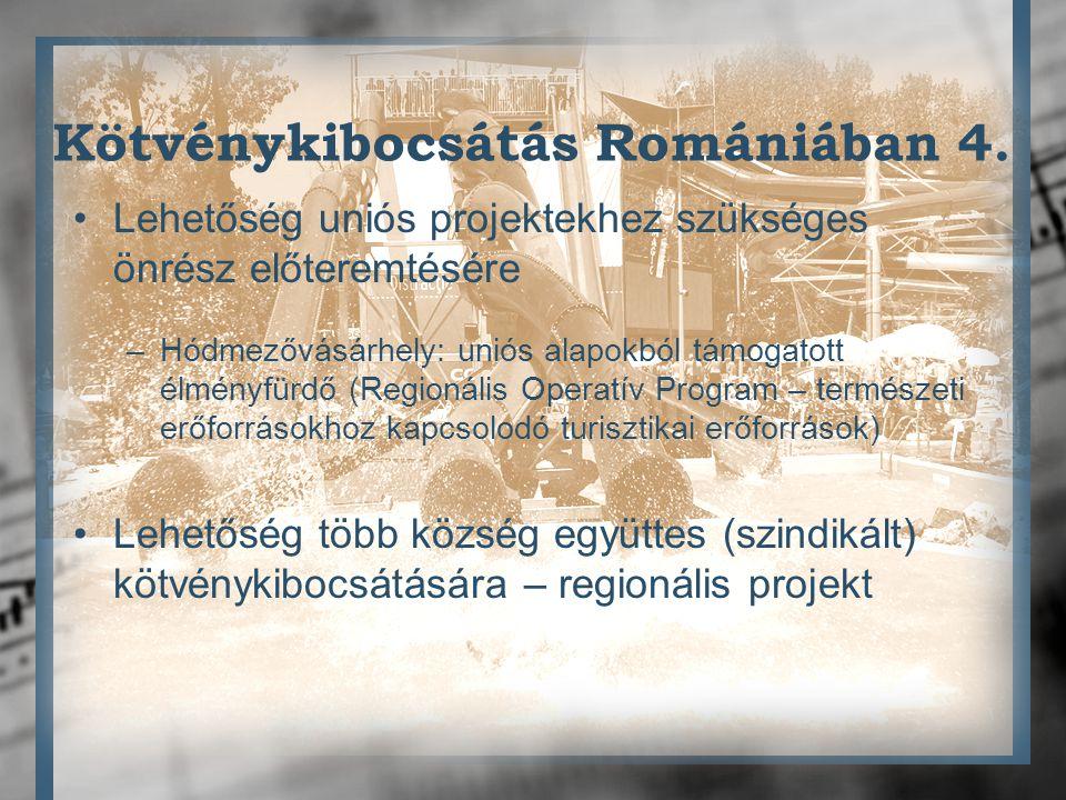 Kötvénykibocsátás Romániában 4.
