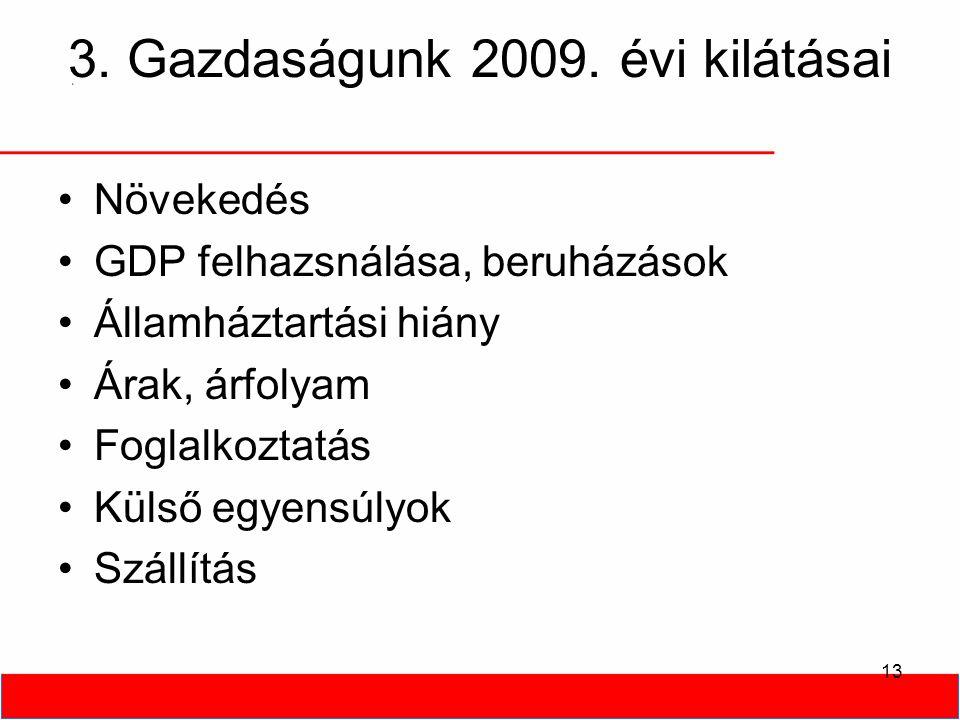 13 3. Gazdaságunk 2009.