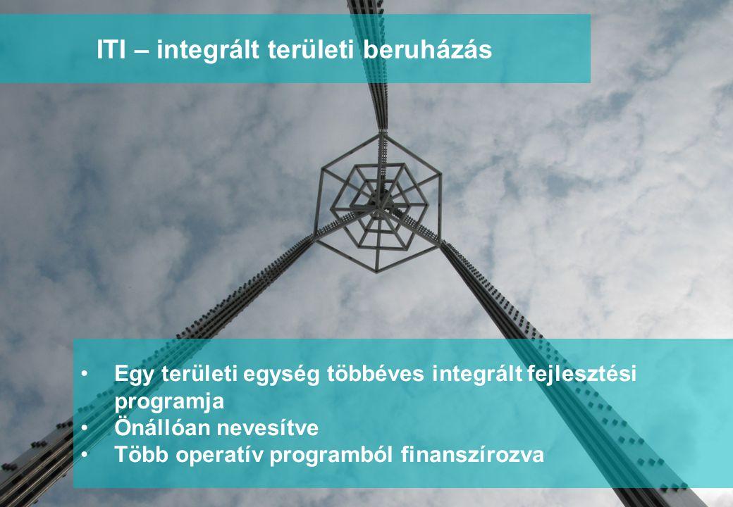 www.integratedconsulting.hu 4 ITI – integrált területi beruházás •Egy területi egység többéves integrált fejlesztési programja •Önállóan nevesítve •Tö