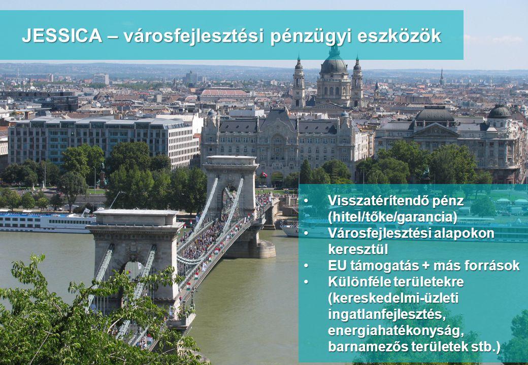 www.integratedconsulting.hu 5 JESSICA – városfejlesztési pénzügyi eszközök •Visszatérítendő pénz (hitel/tőke/garancia) •Városfejlesztési alapokon kere