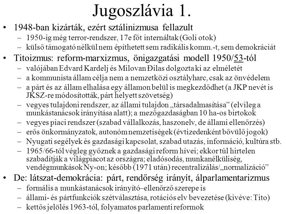 Jugoszlávia 1.