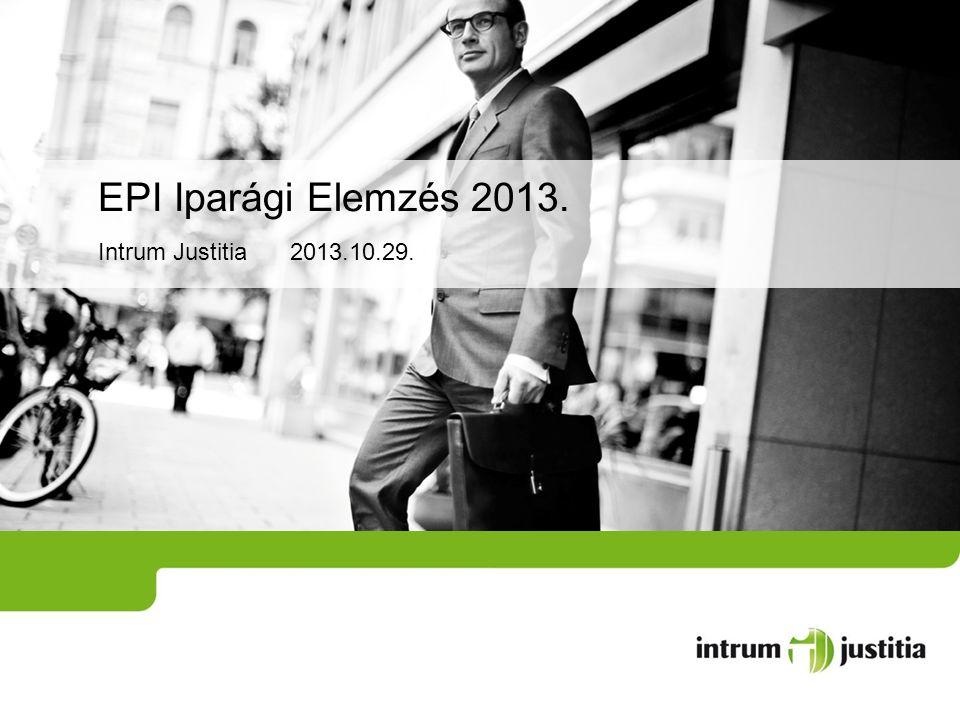EPI Iparági Elemzés 2013. Intrum Justitia 2013.10.29.
