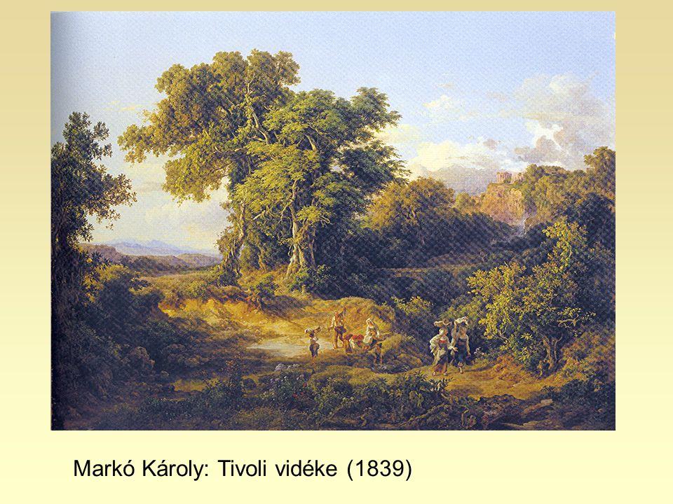 Markó Károly: Tivoli vidéke (1839)