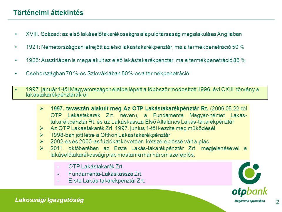 Lakossági Igazgatóság Lakáselőtakarékossági szerződés ajánlat kitöltése értékesítési partner által III.