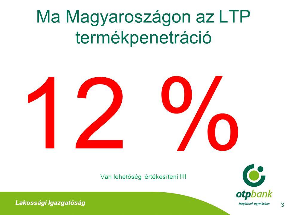 OTP Lakástakarékpénztár Biztos törvényi háttérrel rendelkező termék 4 Lakossági Igazgatóság