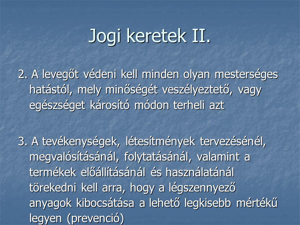 Jogi keretek II.2.
