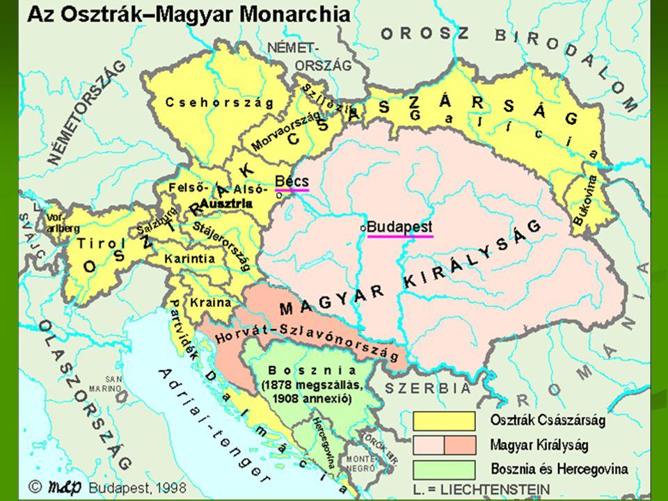 Mária Terézia  1754 kettős vámrendelet  Kaunitz  1850-ig áll fenn  Lényege: a birodalmat önellátóvá tenni  Külső vámhatár  A birodalmat zárta el