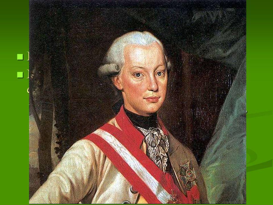 II. Lipót  II. József testvére, Toscana fejedelme  Magyarországon kezd kibontakozni az elfojtott nemzeti érzés  II. József nem koronáztatta meg mag