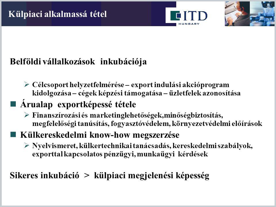 Összes tőkekihelyezés: 9,6 milliárd Euro Magyarországra beáramlott tőke: 60 milliárd Euro Forrás: MNB, 2007 Millió Euro Magyarországi cégek tőkekihelyezése (FDI)