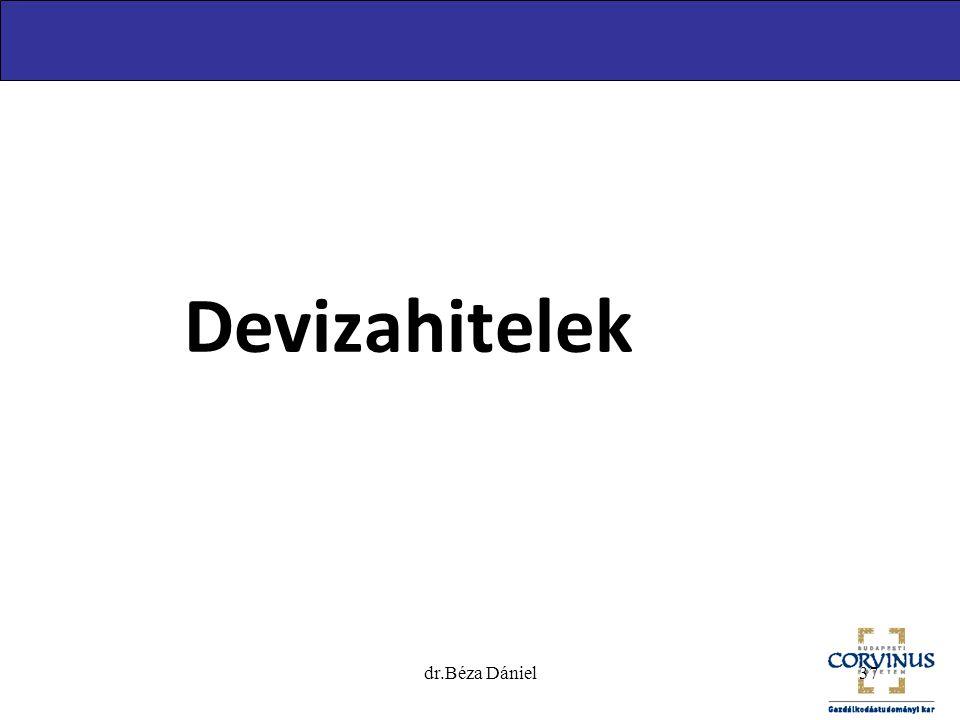 dr.Béza Dániel37 Devizahitelek