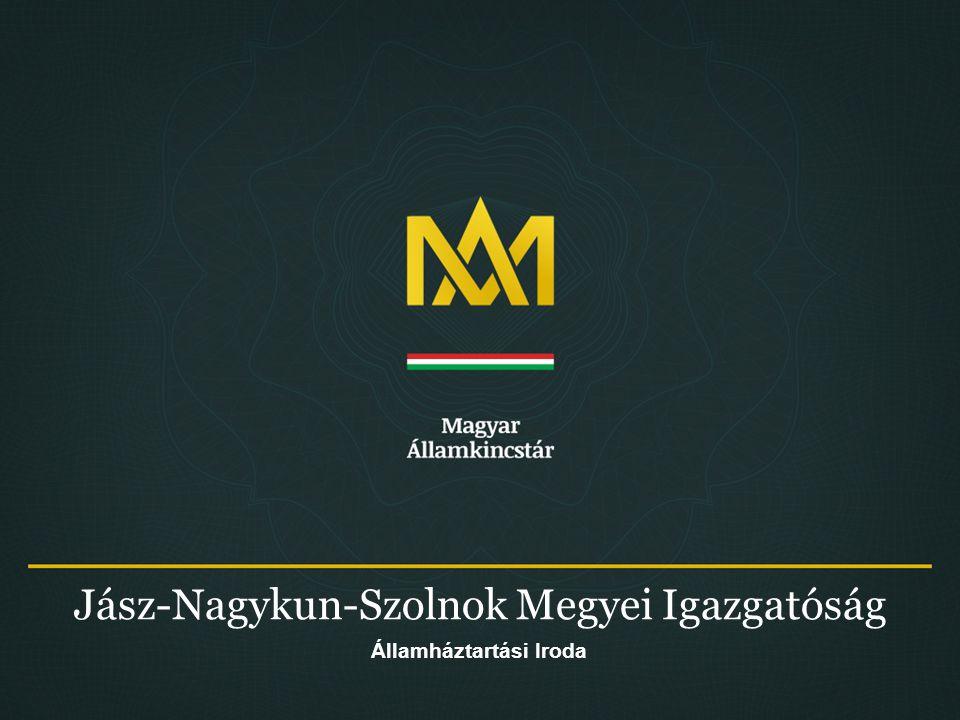 JNSZ Megyei Igazgatóság Államháztartási Iroda 42 A települési önkormányzatok és társulásaik adósságának 2014.