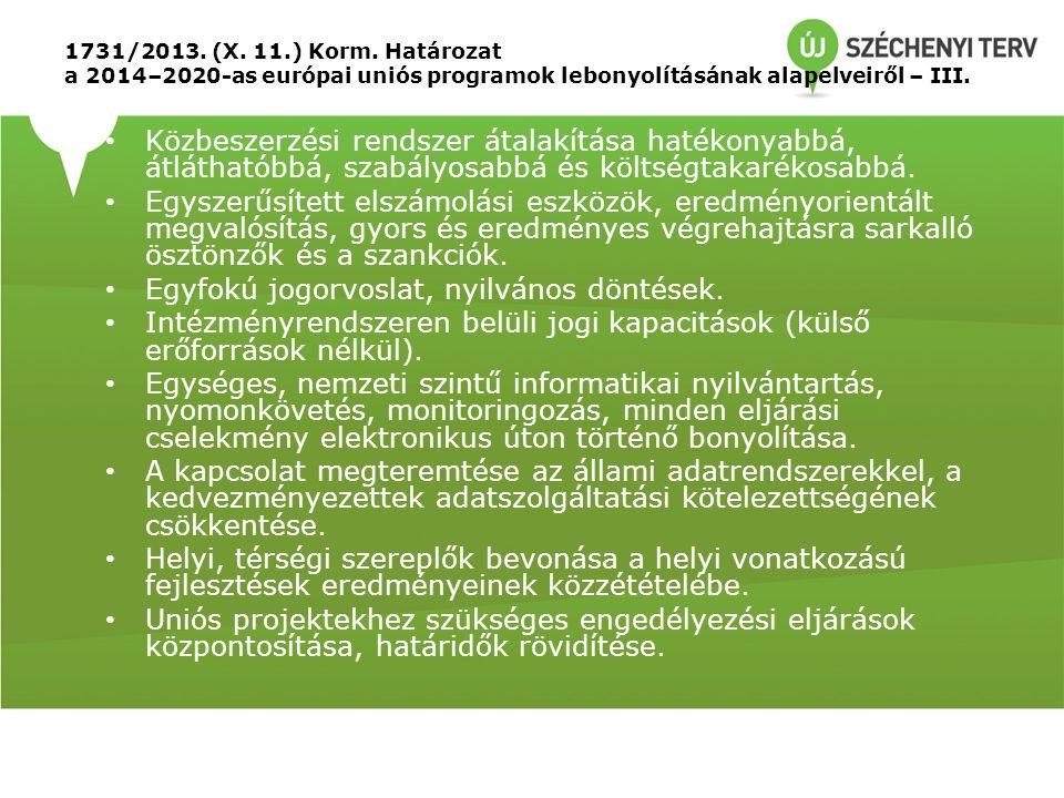 1731/2013.(X. 11.) Korm.