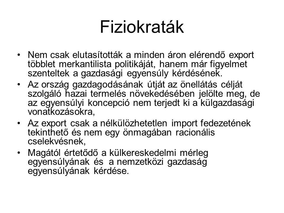Keynes - keynesiánusok •Nem teljes foglalkoztatás → jövedelmi alkalmazkodási mechanizmus (abszorpciós megközelítés) •Pl.