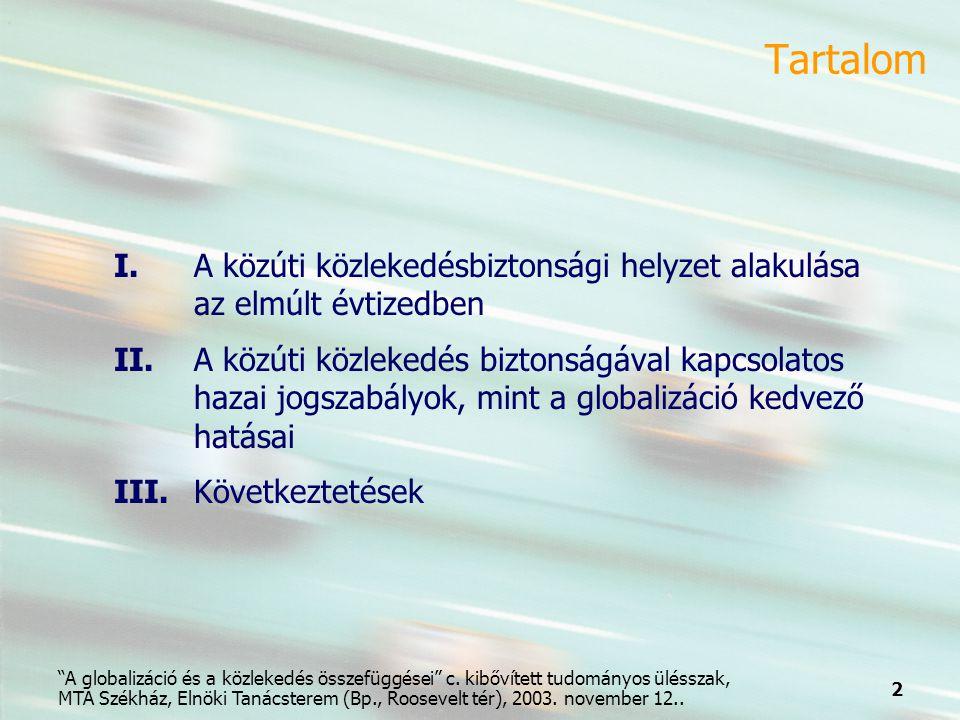 2 A globalizáció és a közlekedés összefüggései c.