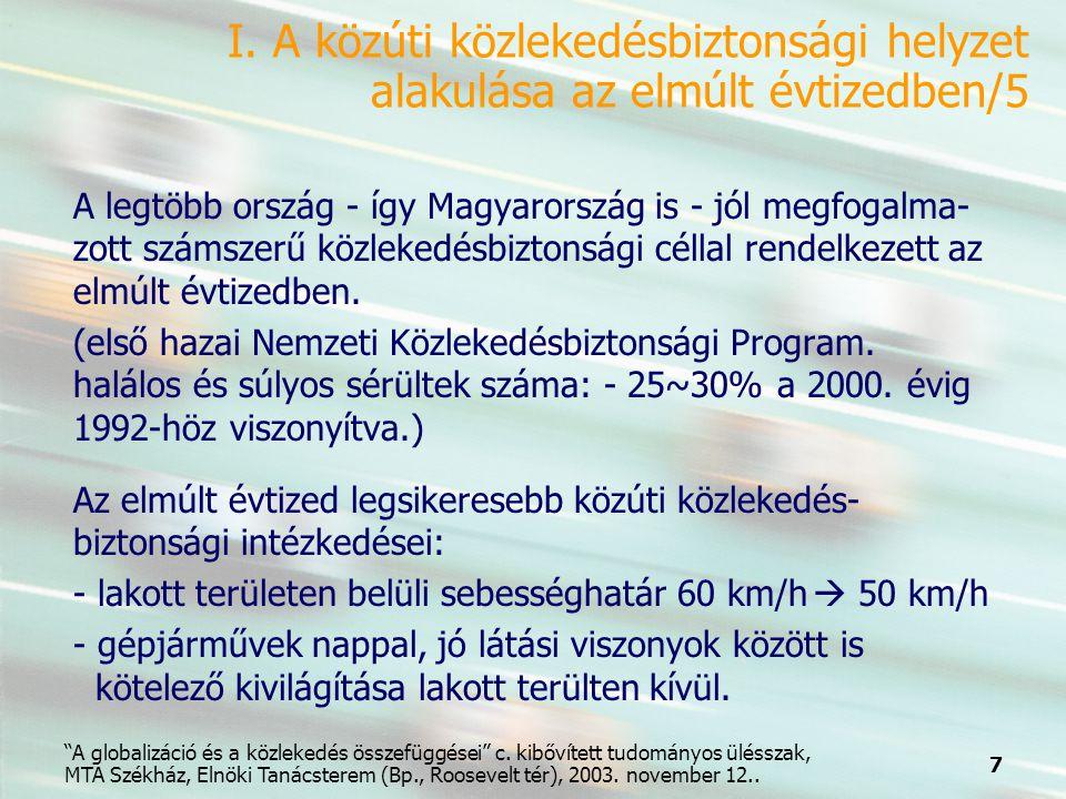 7 A globalizáció és a közlekedés összefüggései c.